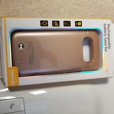 Rechargeable battery case for S6 edge plus