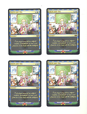 4x Show and Tell - Egyptian Gold Edition - Alter Playing Card Set