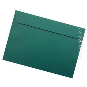 "10 pack x C5 British Racing Green Luxury 120gsm Envelopes - 162 x 229mm - 6 x 9"""