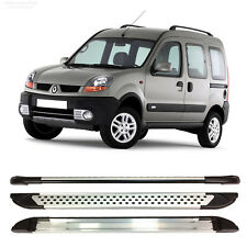 ALUMINIUM SIDE STEPS RUNNING BOARDS FITS RENAULT KANGOO 1999 TO 2008
