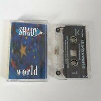 SHADY WORLD CASSETTE TAPE DAVID BAKER MERCURY REV BEGGARS BANQUET UK 1994