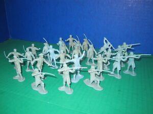 26 Marx 1950s Revolutionary War Play-set
