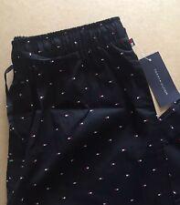 TOMMY HILFIGER Men's Pyjama Bottoms - Size M - BNWT - Black Flag Logo PJs