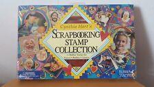 Nuevo Nuevo Y En Caja Cynthia Hart's Scrapbooking Colección de sellos 26 Sellos Rubber Stampede
