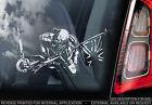 Iron Maiden - Car Window Sticker - The Trooper - Eddie Heavy Metal Sign - TYP6