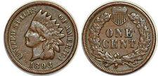 ETATS UNIS 1 CENT 1893 KM#90a