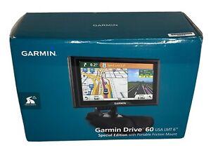 Garmin Drive 60 USA LMT Special Edition Port Friction Mount Lifetime Maps Bundle