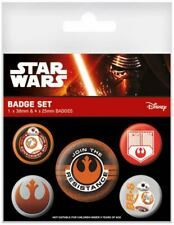 Star Wars Episode VII Ansteck-Buttons 5er-Pack Join The Resistance
