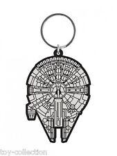 Millennium Falcon / Falke - Star Wars - Gummi Schlüsselanhänger /rubber keychain