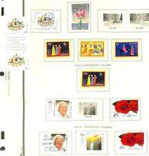 AUSTRALIA SPORTS BIRDS FLOWERS ETC GROUPING OF 61 MOSTLY USED STAMPS 1998-99