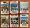 Vintage Top Trumps Bundle X 6 Series 1 & 2 100% Complete Sets