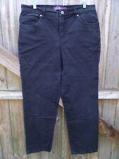 Gloria Vanderbilt Black Regular Fit Jeans Size 12...........................Z264