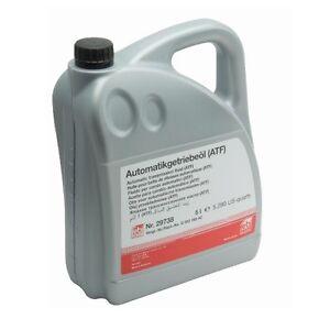 5 Liters ATF1 Automatic Transmission oil Fluid Febi ATF for Audi VW Volkswagen