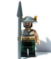 Lego Flesh Minifigure Figure & Spear Weapon Soldier Warrior