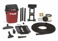 Wall Mount Wet Dry Vacuum Cleaner Shop Car Garage Workshop Dust Long Hose Vac