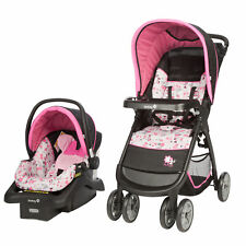 Disney Baby Minnie Mouse Amble Quad Travel System Stroller with OnBoard 22 Lt