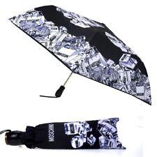 Ombrello Moschino Nero Couture openclose 8260  Umbrella