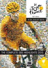 The Tour De France 2015 - Complete Highlights (DVD, 2015, 3-Disc Set)