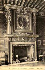 CPA Frankreich um 1910 AK Chateau CHEVERNY Cheminée Kamin Zimmer France