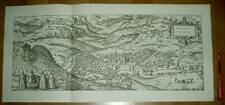 Brixen Bressanone Südtirol alte Ansicht Merian Druck Stich 1650 (schw)
