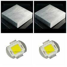 170*170*44mm 6.7inch Aluminum Heatsink Radiator w 100W White High Power LED