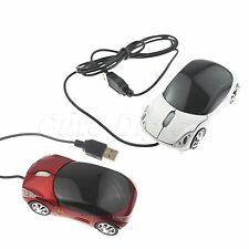 New 76g 3D USB Car Shape Optical mouse Mice for Laptop PC