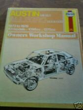 AUSTIN ALLEGRO 1973-78' All Models Haynes Manual NEW!