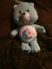 "Care Bear Bedtime Bear Small Plush Vintage 9"""