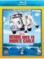DISNEY'S HERBIE GOES TO MONTE CARLO BLURAY NEW RARE, OOP! DEAN JONES DON KNOTTS