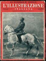 1933 XXI Biennale di Venezia Illustrazione Italiana numero dedicato