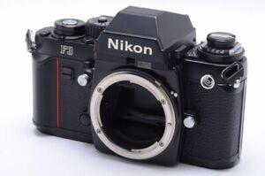 Nikon F3 Eyelevel 35mm SLR Film Camera Black Body From Japan #131865