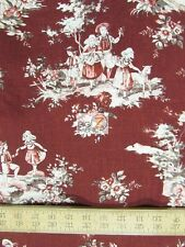 TOILE DE JOUY HISTORY BY PENNY ROSE FABRICS COTTON FH-3121 BY THE YARD CLOTHING