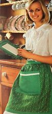 SEWING PATTERN Jean Greenhowe Kitchen Pad & Pinny Apron with Pocket RARE