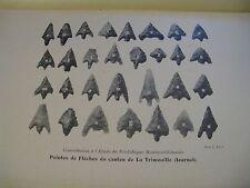 GOBILLOT ETUDE DU NEOLITHIQUE MONTMORILLONNAIS 1911 Illustré ENVOI Signé VIENNE