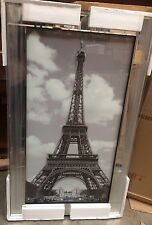 Eiffel Tower on Mirrored Frame Wall Mirror100x60cm home decor/gift