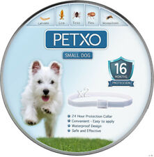 2 Pack Natural Flea and Tick Collars Small Dogs 16 Month Protection New Us Stock