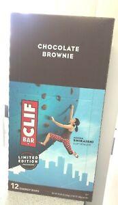 Clif Bar, Energy Bar, Chocolate Brownie, 12 Bars, 2.40 Oz (68 G) Each EXP10/2021