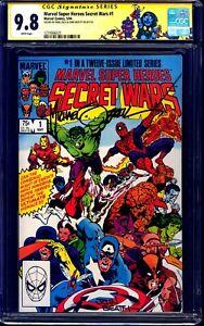 Marvel Super Heroes Secret War #1 CGC SS 9.8 signed x2 Mike Zeck & John Beatty