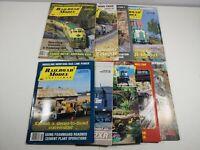 Vintage 1992 Railroad Model Craftsman Magazine Lot Of 9