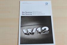 76954) VW Touareg W12 - Technik & Preise & Extras - Prospekt 11/2008