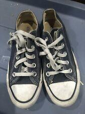 Converse All Star unisex navy blue canvas low-top sneakers size 3 men 5 women