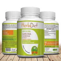 180 Garcinia Cambogia HCA Weight Fat Loss Diet Vegan Capsules Upto 3000mg Daily