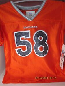 Denver Broncos NFL Toddler 12 months Von Miller #58 Authentic