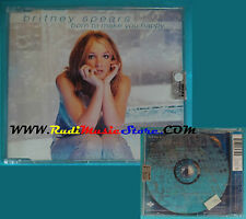 CD Singolo BRITNEY SPEARS Born to make you happy 1999 eu SEALED (S1)mc dvd