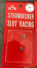 1 pack Strombecker Slot Car Racing 2 Prong Knock Off Hubs 8055 Nos