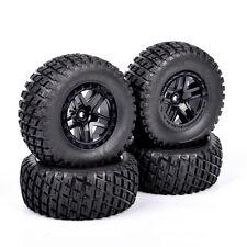 4PC 12mm Hex 1/10 Scale RC Short Course Truck Off-road Argyle Tire & Wheel 29001