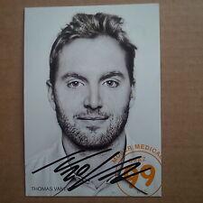 Thomas Vanek SIGNED Graz 99ers 2012/13 Autogrammkarte team issue postcard