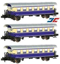 HS Jägerndorfer 60308 Set mit 3 zweiachsigen Personenwagen Halbfenster ÖBB Sp N