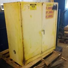 "JUSTRITE 30 GAL. CAPACITY FLAMMABLE LIQUID STORAGE CABINET 25300 18"" X 43"" X 44"""
