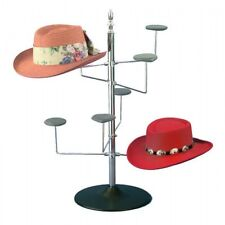 Women's Counter Hat Rack Table Model Black Hat Wire Display POS Display